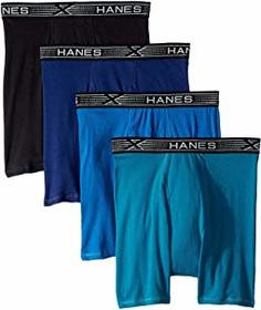 Hanes 4-Pack Xtemp Boxer Briefs