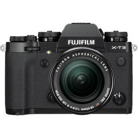 FUJIFILM X-T3 Mirrorless Digital Camera with 18-55