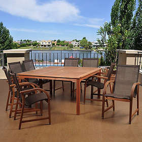 Amazonia Bahamas Eucalyptus Outdoor Patio Dining S