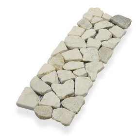 "4"" x 11.75"" Natural Stone Interlock Border Tile in"