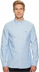 Lacoste Long Sleeve Oxford Button Down Collar Regu
