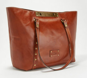 """As Is"" Patricia Nash Leather Tote - Benvenuto - A"