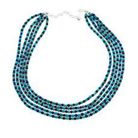 Jay King 5-Strand Lapis and Andean Blue Turquoise