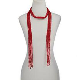 "R.J. Graziano 63"" 9-Row Seed Bead Lariat Necklace"