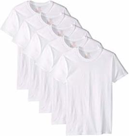 Hanes Core Cotton Crew Neck Tee Pack