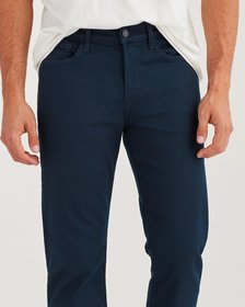7 For All Mankind Luxe Sport Slimmy Clean Pocket i