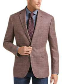 Joseph Abboud Limited Edition Rust Tic Modern Fit