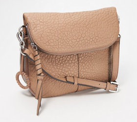 Vince Camuto Lamb Leather Crossbody Bag - Cory - A