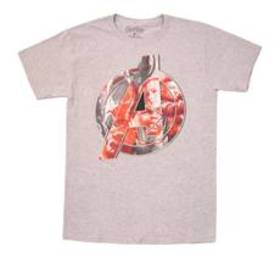 Young Mens Avengers End Game Short Sleeve Crew Nec