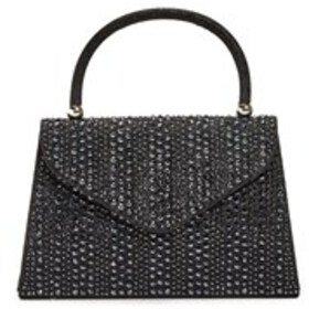 D'MARGEAUX Crystal Glitter Top Handle Bag