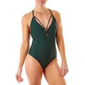 BEBE Strappy O-Ring One-Piece Bathing Suit