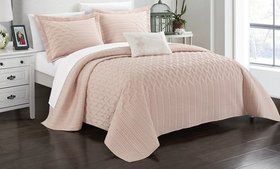 Chic Home Shaly Interlaced Design Quilt Set (3- or