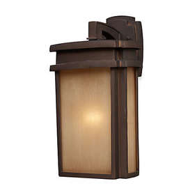 ELK Lighting Sedona 1-Light 9-Inch W Outdoor Sconc