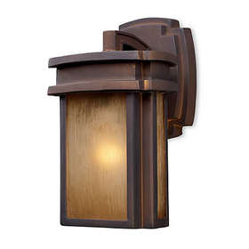 ELK Lighting Sedona 1-Light Outdoor Sconce in Haze