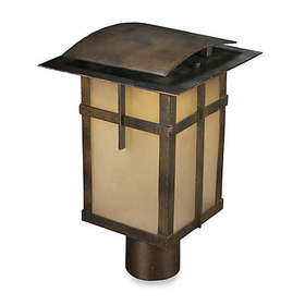 ELK Lighting San Fernando 1-Light Outdoor Post in