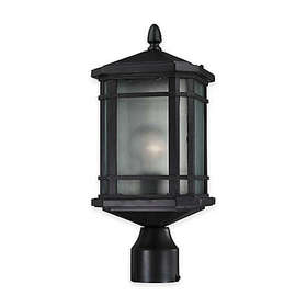 Bee & Willow™ Home Lowell 1-Light Post-Mount Outdo