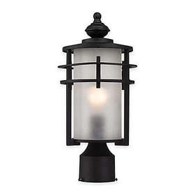 Elk Lighting Meadowview 1-Light Post-Mount Outdoor