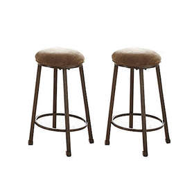 Omaha Counter Stool in Brown (Set of 2)