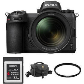 Nikon Z 6 Mirrorless Digital Camera with 24-70mm L