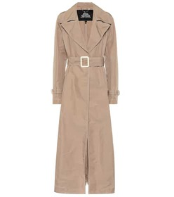 Marc Jacobs Contrast Stitching trench coat