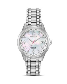 Citizen - Stainless Steel World Time Eco-Drive Wat