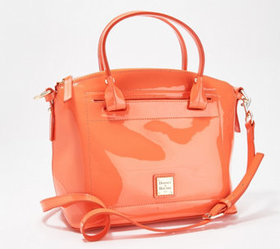 """""""As Is"""" Dooney & Bourke Patent Leather Domed Satch"""