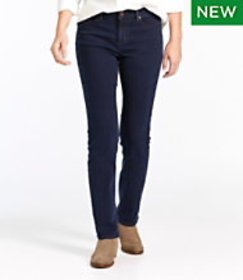 LL Bean True Shape Tencel Jeans, Straight-Leg