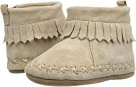 Robeez Cozy Ankle Moccasin Soft Sole (Infant/Toddl
