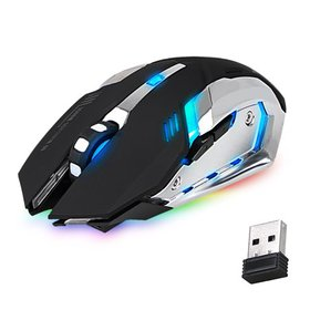 Bluetooth Gaming Mouse, X70 Rechargeable Wireless