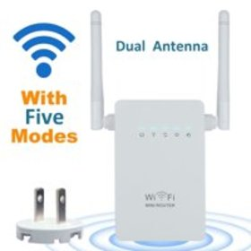 300Mbps Wireless-N Range Extender WiFi Repeater Si