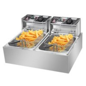 Ktaxon Commercial Electric Deep Fryer,Timer and Dr