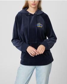 Juicy Couture Luxe Crown Velour Pullover Hoodie