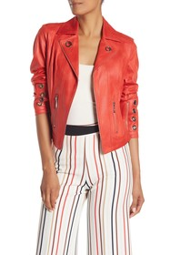 Insight Pebbled Faux Suede Jacket