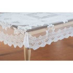 Lace White Tablecloth