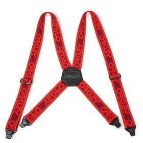 Oakley Factory Suspenders - POPPY RED