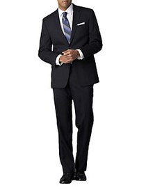 Calvin Klein Slim-Fit Wool Suit NAVY