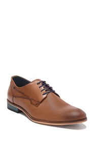MODERN FICTION Perforated Leather Plain Toe Derby