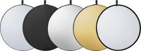 """Insignia™ - 5-in-1 42"""" Collapsible Light Reflector"""
