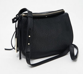 Vince Camuto Large Lamb Leather Crossbody Bag - Id
