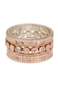 Anna Beck 18K Rose Gold Plated Sterling Silver Sta