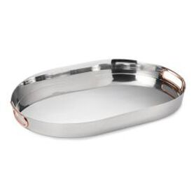 Stainless-Steel & Copper Tray