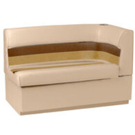Toonmate Deluxe Pontoon Corner Couch with Toe Kick