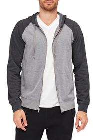 Threads 4 Thought Classic Contrast Raglan Hoodie -