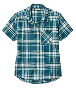 LL Bean Beach Cruiser Summer Shirt, Short-Sleeve P