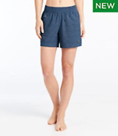 LL Bean L.L.Bean Stretch Board Shorts, Pull-on Pri