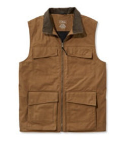 LL Bean Men's Traveler's TEKCotton Vest