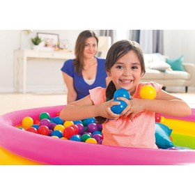 100-Pack Intex Small Plastic Multi-Colored Fun Bal