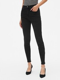 High Rise True Skinny Jeans with Secret Smoothing