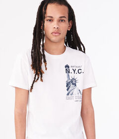 Aeropostale Lady Liberty NYC Graphic Tee
