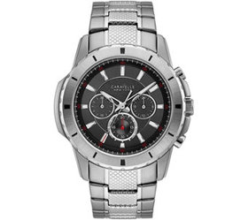 Caravelle by Bulova Men's Stainless Chronograph Wa